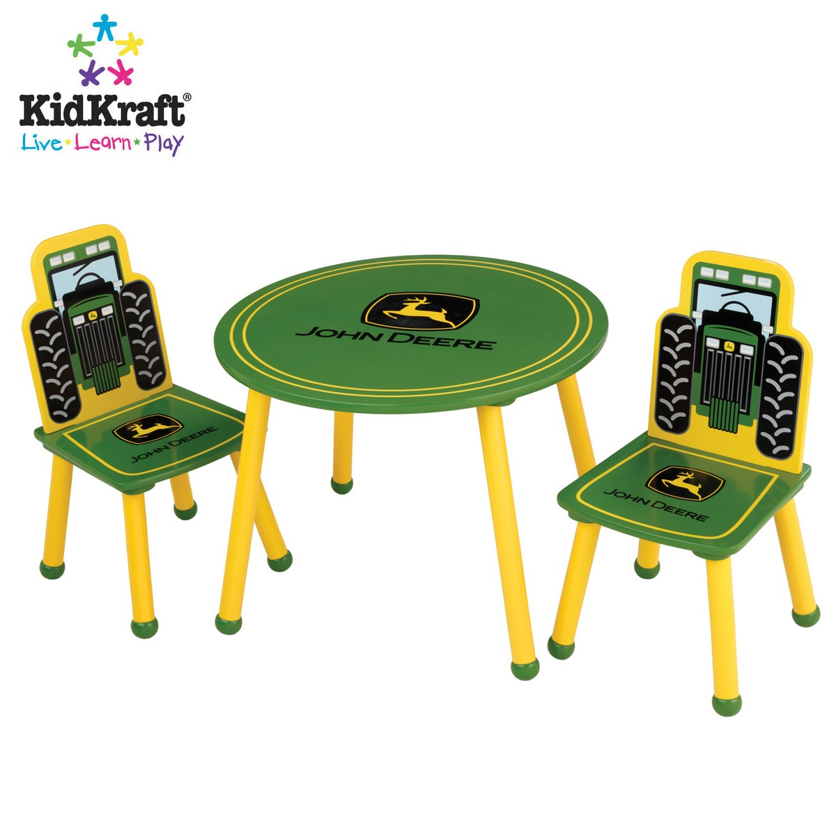 John Deere Table and Chair Set KidKraft 11011