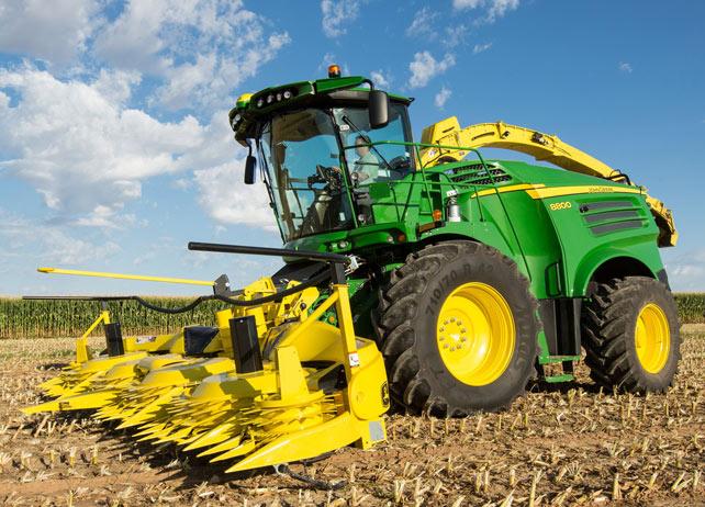 ... Forage Equipment | 8800 Self-Propelled Forage Harvester | John Deere
