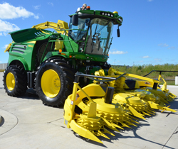... three new models of the 8000 Series Self-Propelled Forage Harvesters