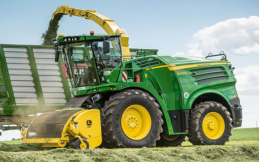 John Deere: New models added to self-propelled forager range | What's ...