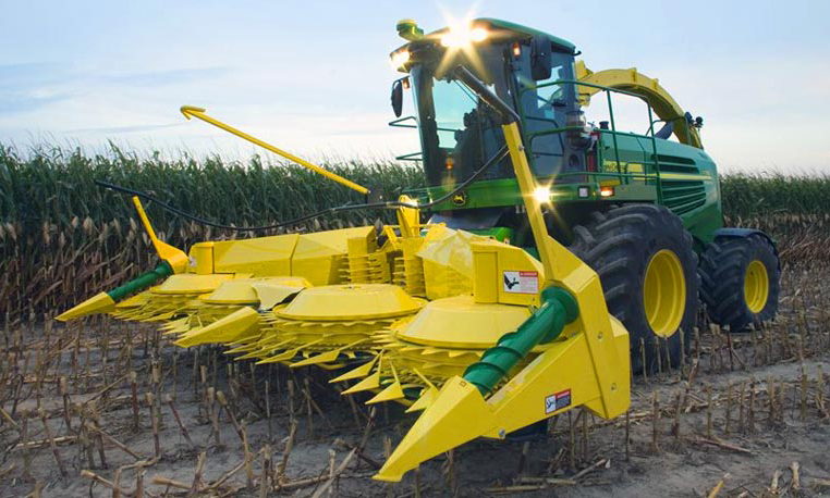 John Deere SPFH Corn Header Series Hay and Forage Equipment JohnDeere ...
