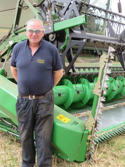 New John Deere header design reaps rewards - Insights - FG Insight