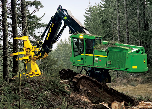 john deere feller bunchers
