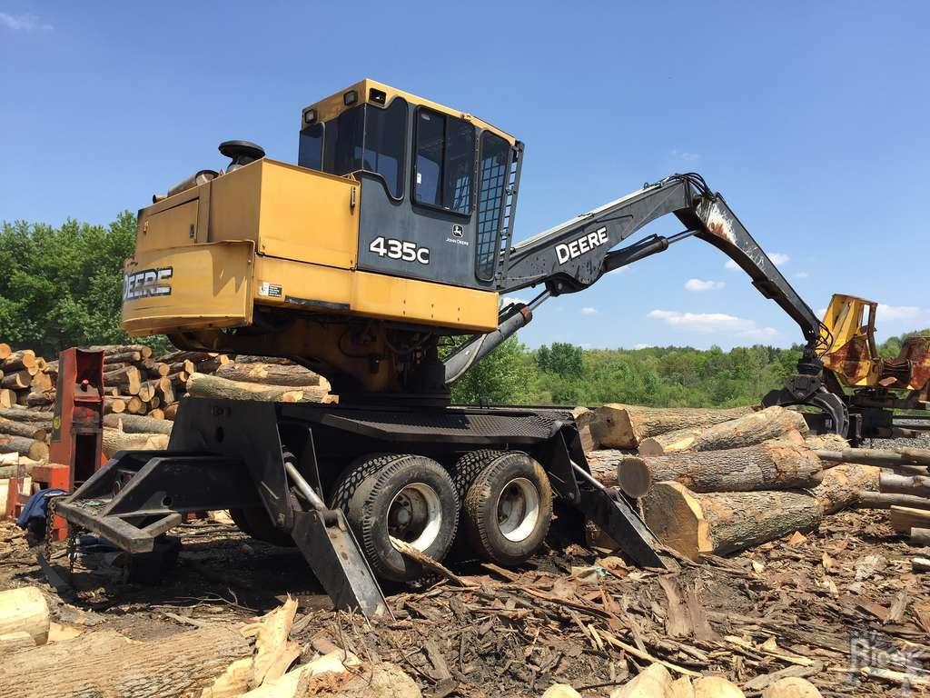 2004 John Deere 435C Knuckleboom Log Loader #209852 - Ricer Equipment ...