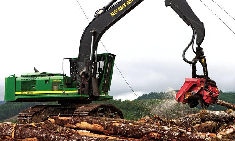Forestry Swing Machines   D Series   John Deere US