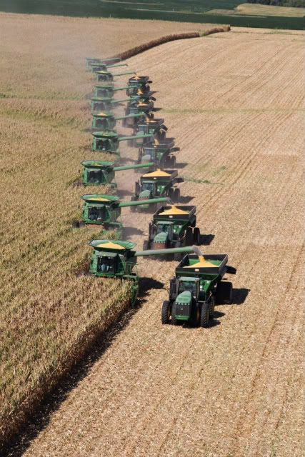john deere harvest equipment