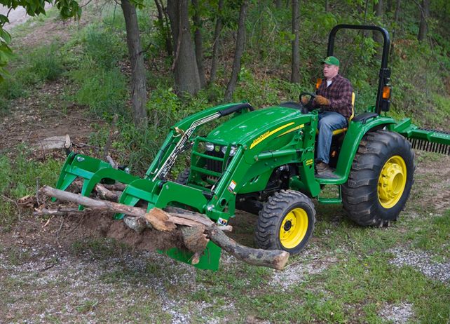 John Deere 553 Loader Loading and Digging Attachment JohnDeere.com