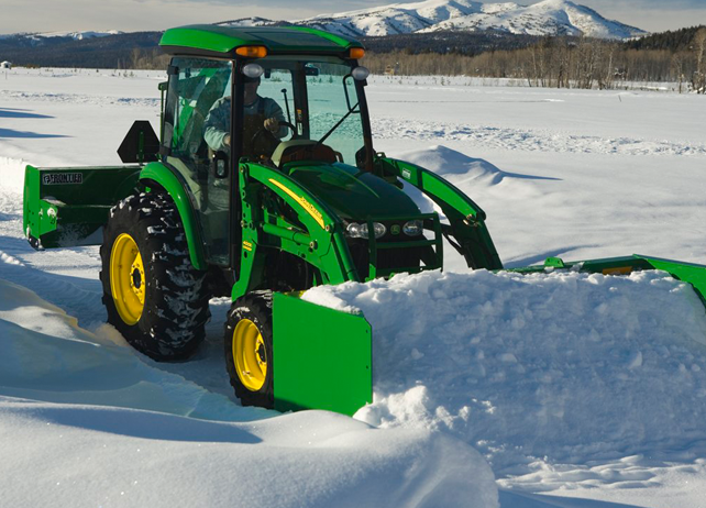 john deere snow removal equipment