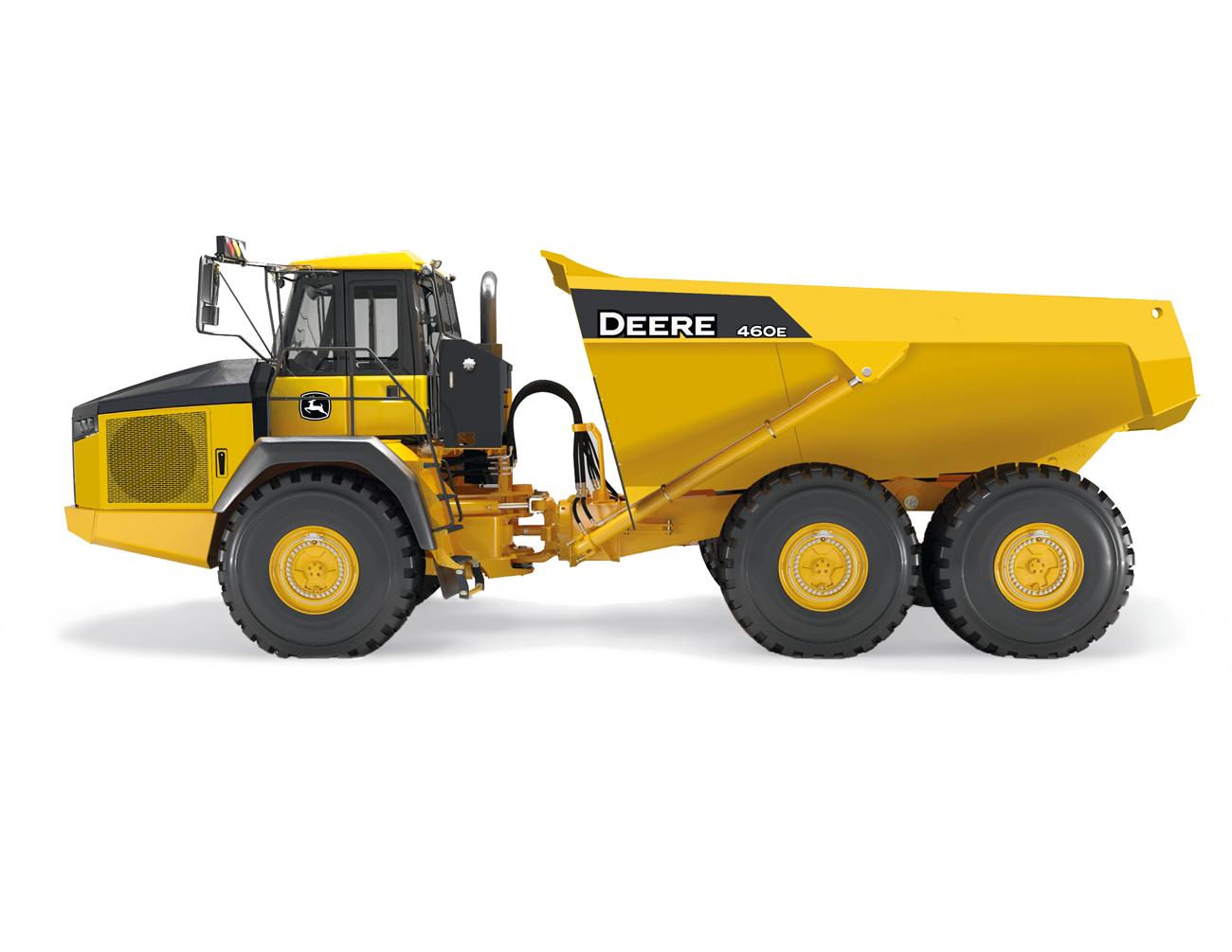 DesignApplause | 460e adt. articulated dump truck. John deere..