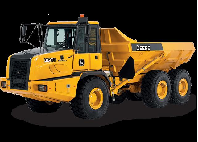 Articulated Dump Truck | Rock Truck | 250D II | John Deere US