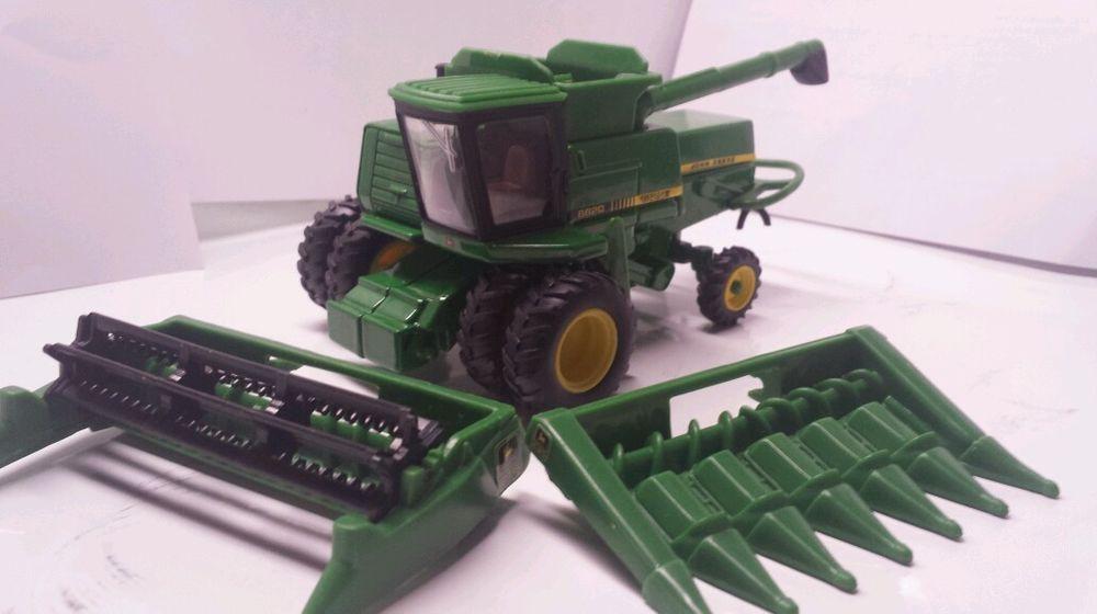 64 ERTL custom John deere 8820 titan II rwa and Duals combine farm ...