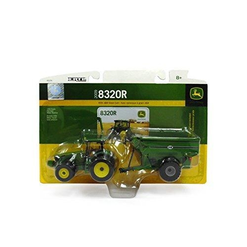 ... John Deere 8320R Tractor With J & M Grain Cart, 1:64 Scale for sale