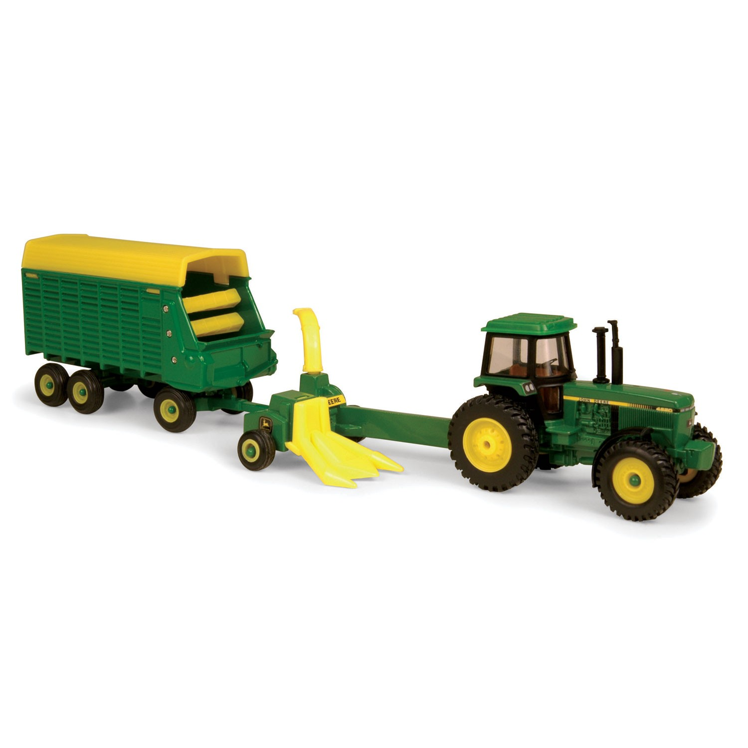 ... so your cattle can be fed with this John Deere forage harvest set