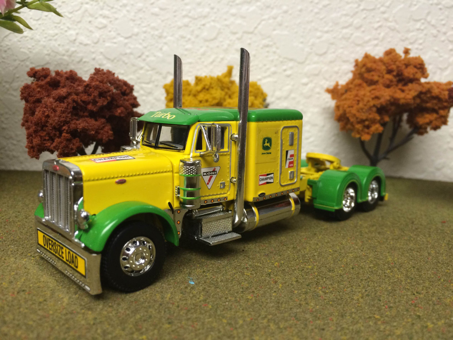 John Deere 1/64 d.c.p. Peterbilt model 379 60 by johnnygcustom