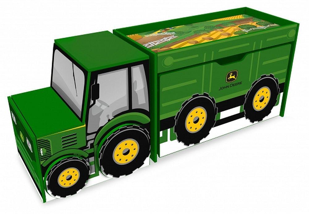 ... > John Deere > John Deere Bedding > John Deere Tractor Toy Box Set