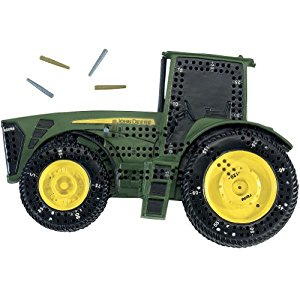 Amazon.com : Unique John Deere Tractor Shaped Cribbage Board Game with ...