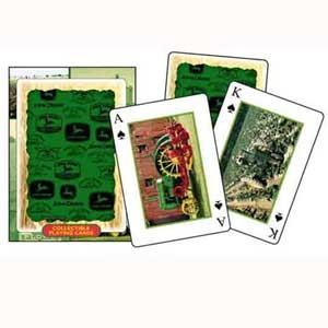 ... and Accessories > John Deere Collectible Tractor Playing Cards