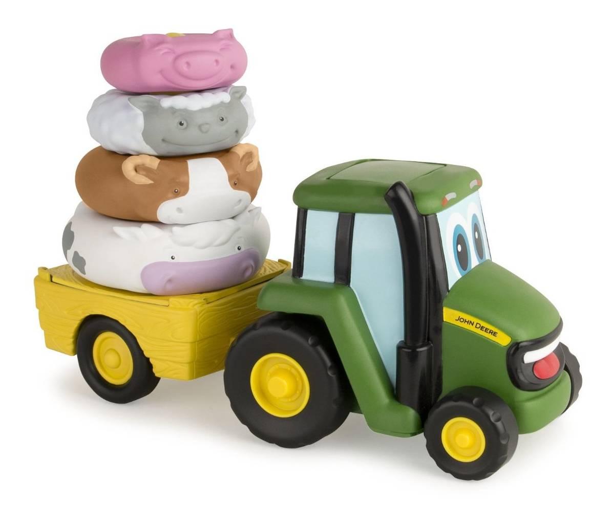 Britains Tomy John Deere Farm Stackers 46403 - Farm Toys Online