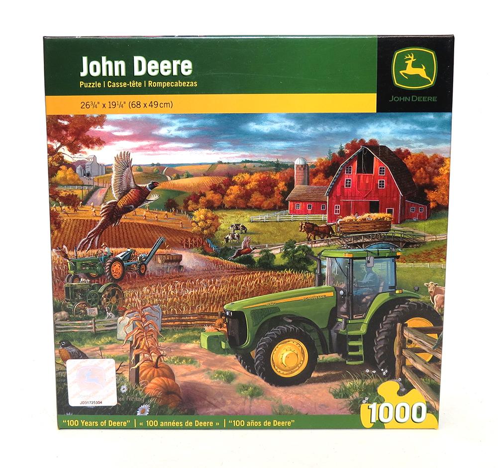 100 Years of Deere` John Deere 1000 pc puzzle