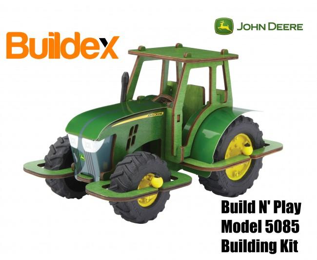 John Deere® Buildex Build N'Play 5085 Building Kit - M&M Sales ...