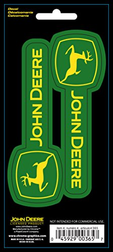 Chroma 000365 Stick-Onz 'John Deere' Decal 045929003657 | ToolFanatic ...