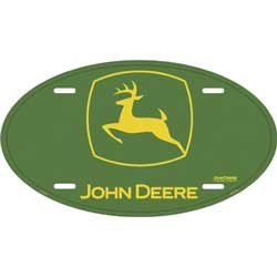 LICENSE PLATE - Oval John Deere Vehicles Parts Vehicle Parts ...
