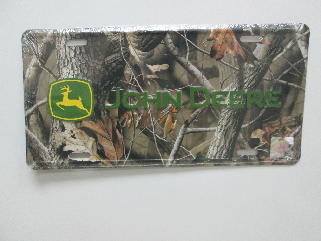 camouflage license plate lp53525 john deere license plate realtree ...