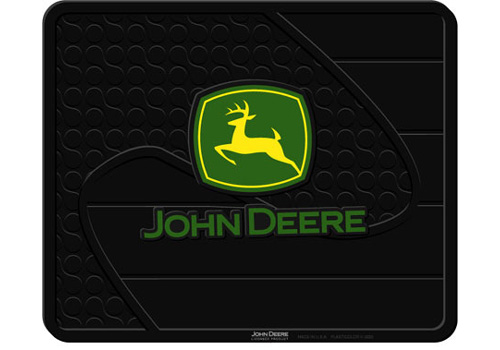 Ford Truck Accessory - PlastiColor John Deere Logo 14 x 17 Utility Mat