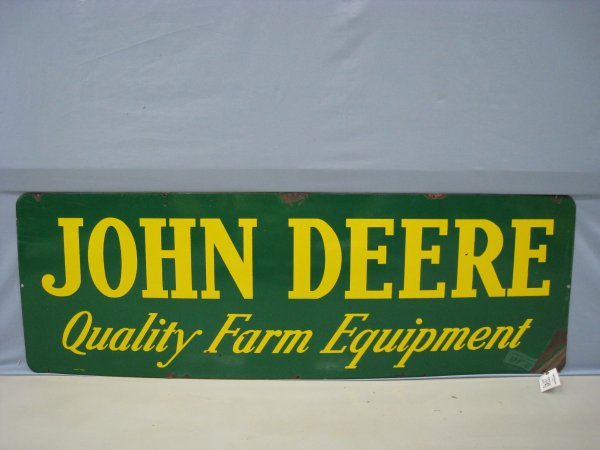 19740: John Deere Quality Farm Equipment Sign : Lot 19740
