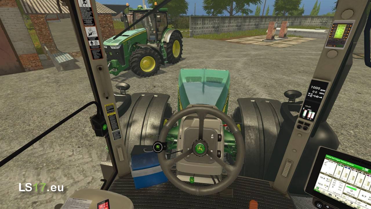 John Deere 8230/8370R JKIDD'S edit V1.2 - Farming Simulator 17 mods