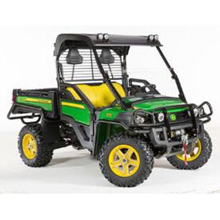 ... > Model XUV 625i Gator > John Deere OPS Poly Roof - Black - BM24115