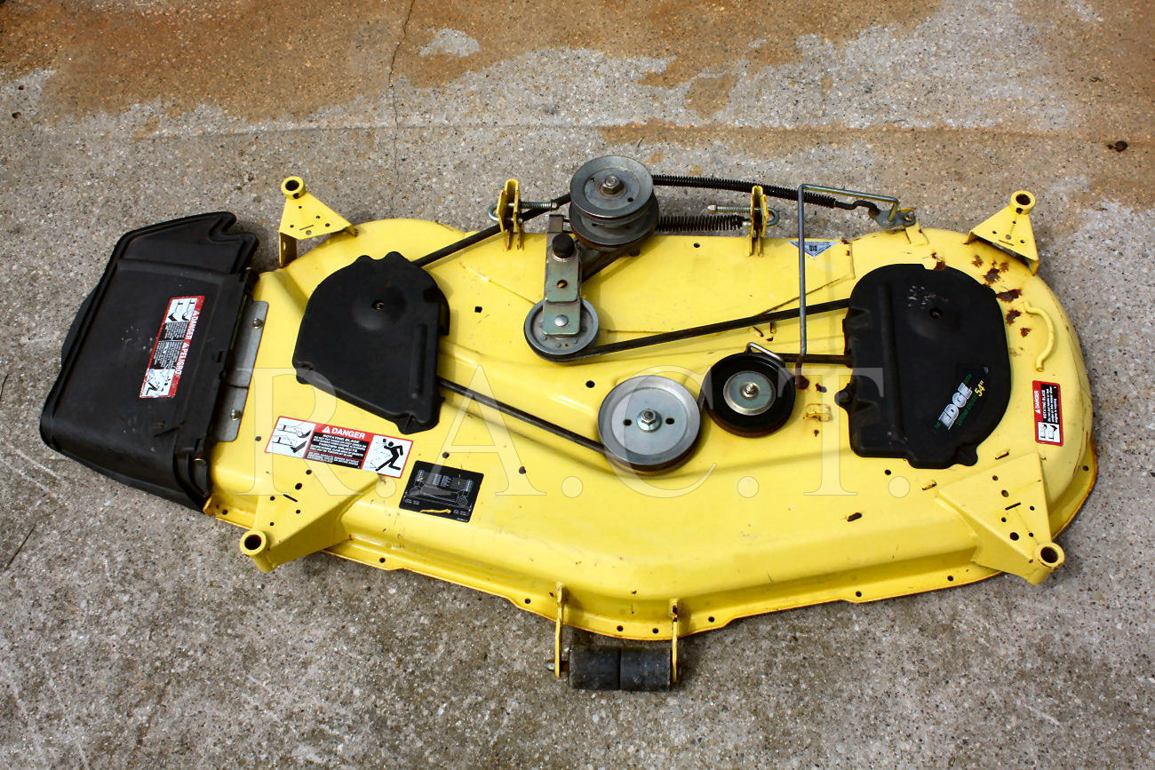 ... Deere Parts 10 > John Deere Complete Replacement 42-inch Mower Deck