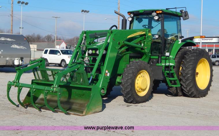 2009 John Deere 7630 MFWD tractor | Item H3832 | SOLD! Janua...