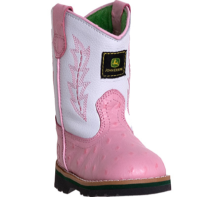 Infant/Toddler Girls John Deere Boots Leather Wellington 1171 - FREE ...
