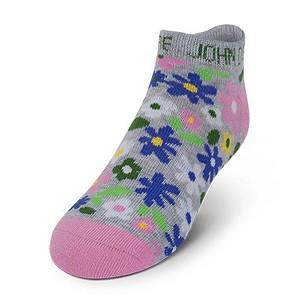 John Deere Girls No Show Floral Socks - LP51847 - LP51848