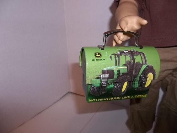 ... box doll metal lunch box 18 american lunch boxes john deere forward