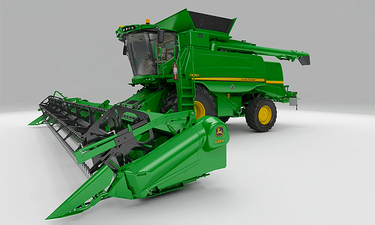 Explore the T-Series Combines from John Deere