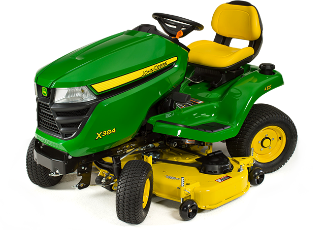 Lawn & Garden Riding Mowers Select Series X300 Series X384 4WS (2016)