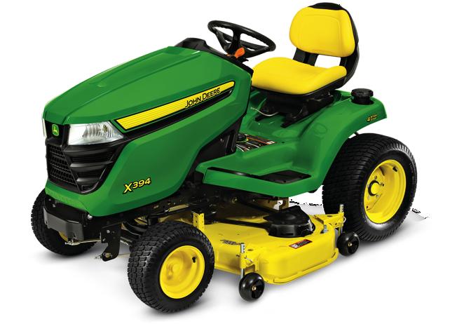 X300 Select Series Lawn Tractor | X394, 48-in. Deck | John Deere US