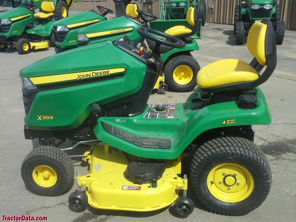 TractorData.com John Deere X384 tractor photos information