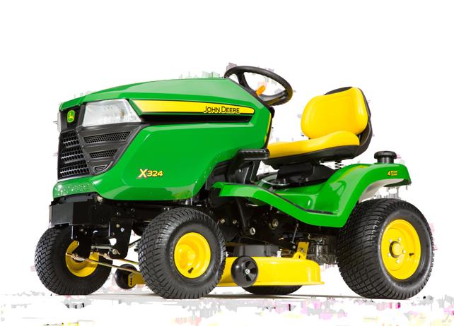 John Deere X324 Select Series X300 Lawn Tractors JohnDeere.ca