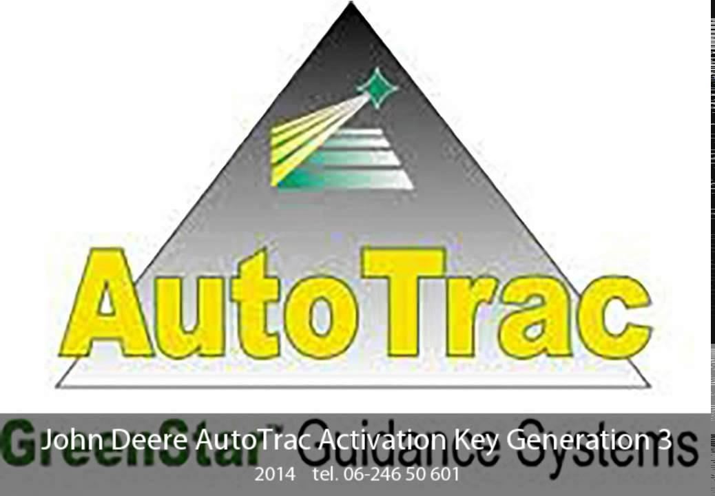 John Deere AutoTrac Activation Key Generation 3 - YouTube