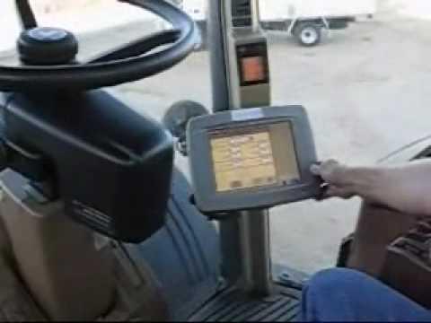 John Deere autotrac makes steering easy - YouTube