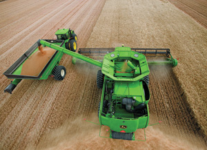 With the push of a button, John Deere's Machine Sync matches the ...