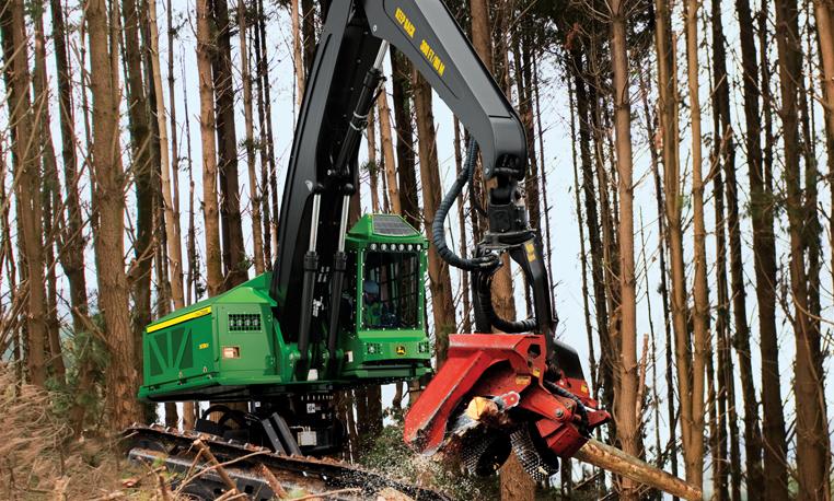 Tracked and Wheeled Harvesters | John Deere AU