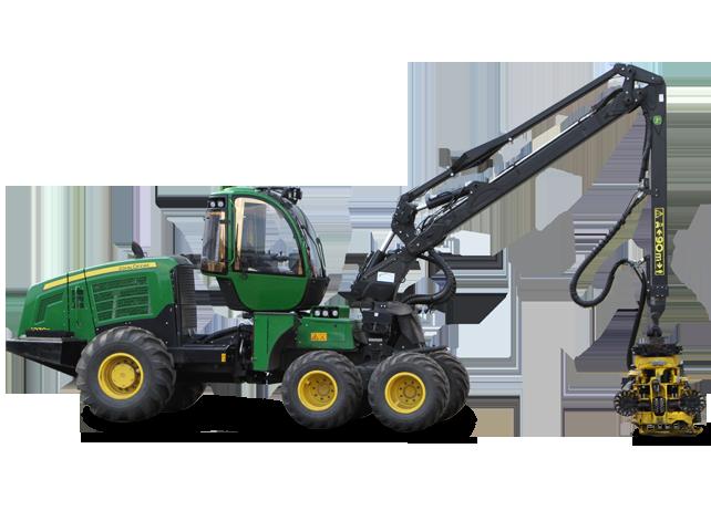 1070E IT4 | Wheeled Harvesters | John Deere UK&Ire