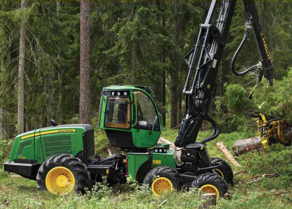 CablePrice - John Deere 1170E Wheeled Harvesters