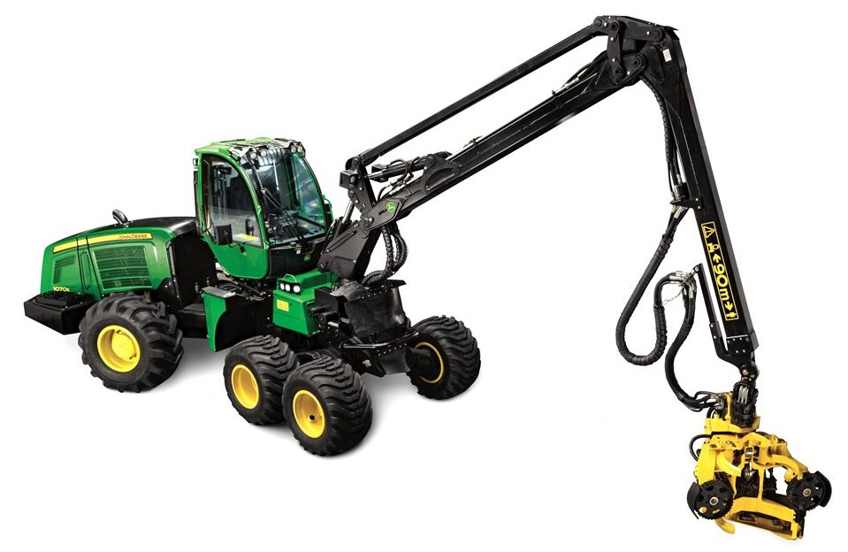 CablePrice - John Deere 1070E Wheeled Harvesters
