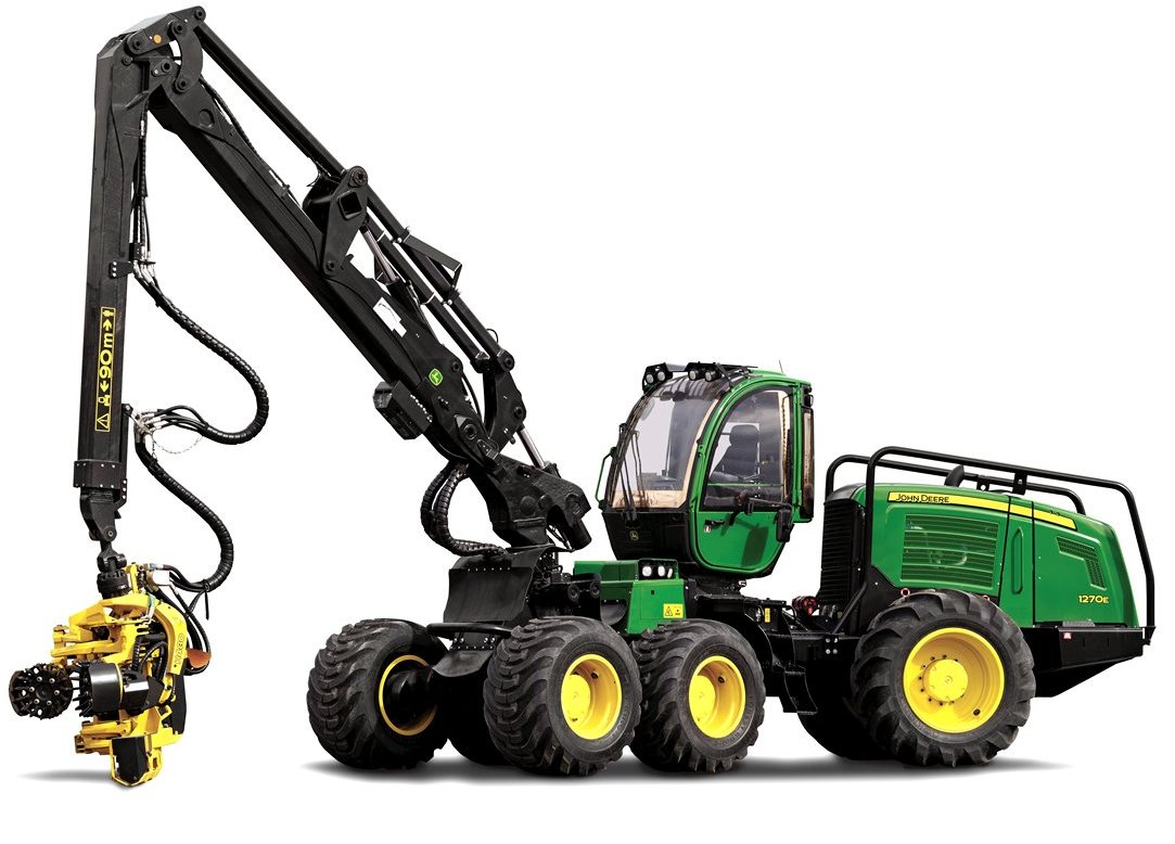 CablePrice - John Deere 1270E Wheeled Harvesters