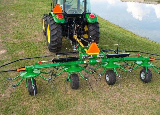John Deere TD24 Series Hay Tedders Hay Equipment JohnDeere.com